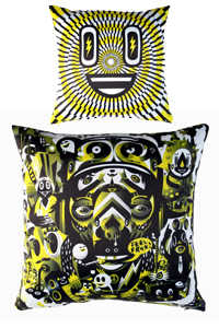 "GRAPHIC PILLOW (15""x15"") Lim. Ed."