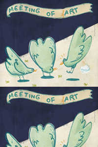 """Meeting of Art"""