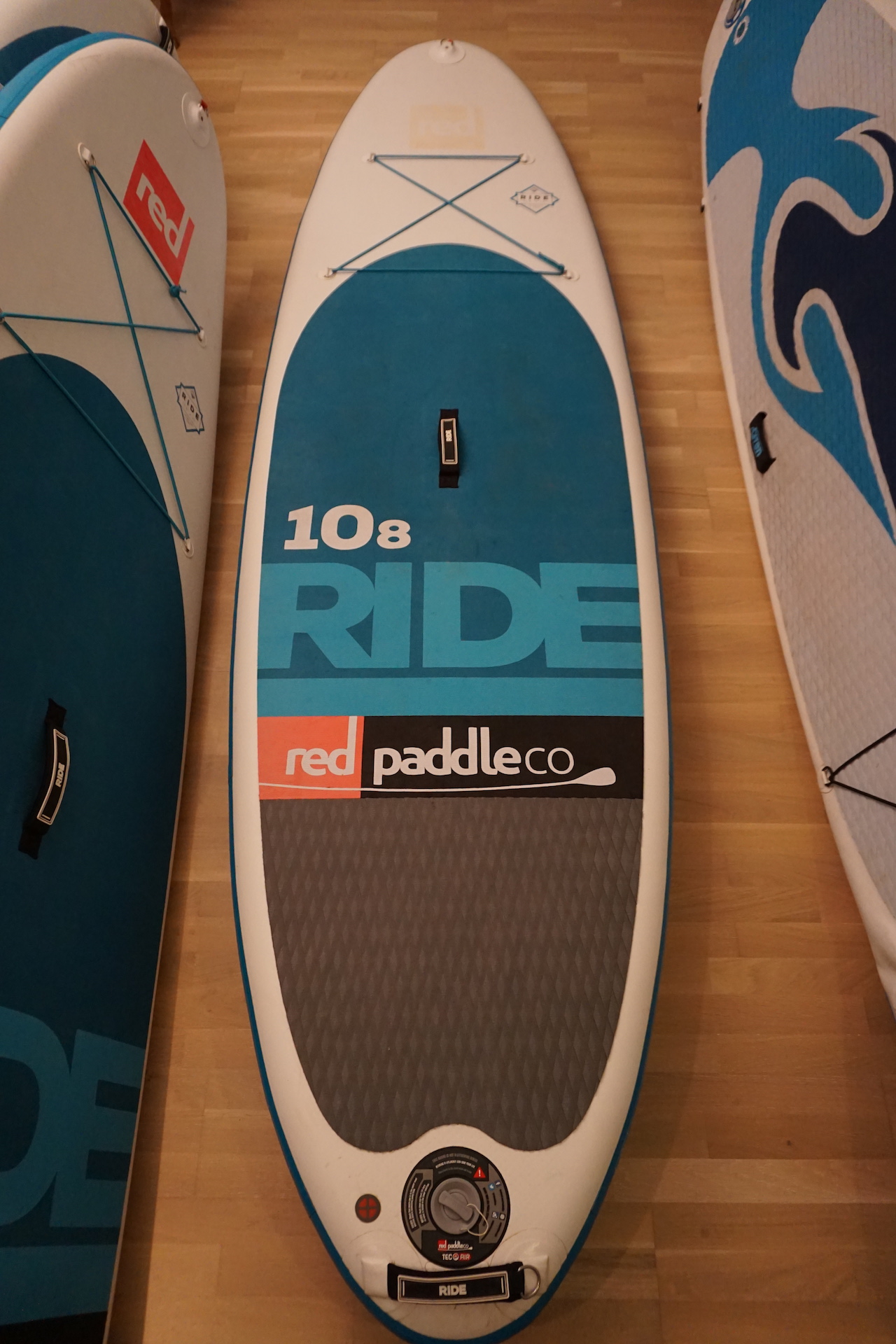 "Red 10'8"" Ride"