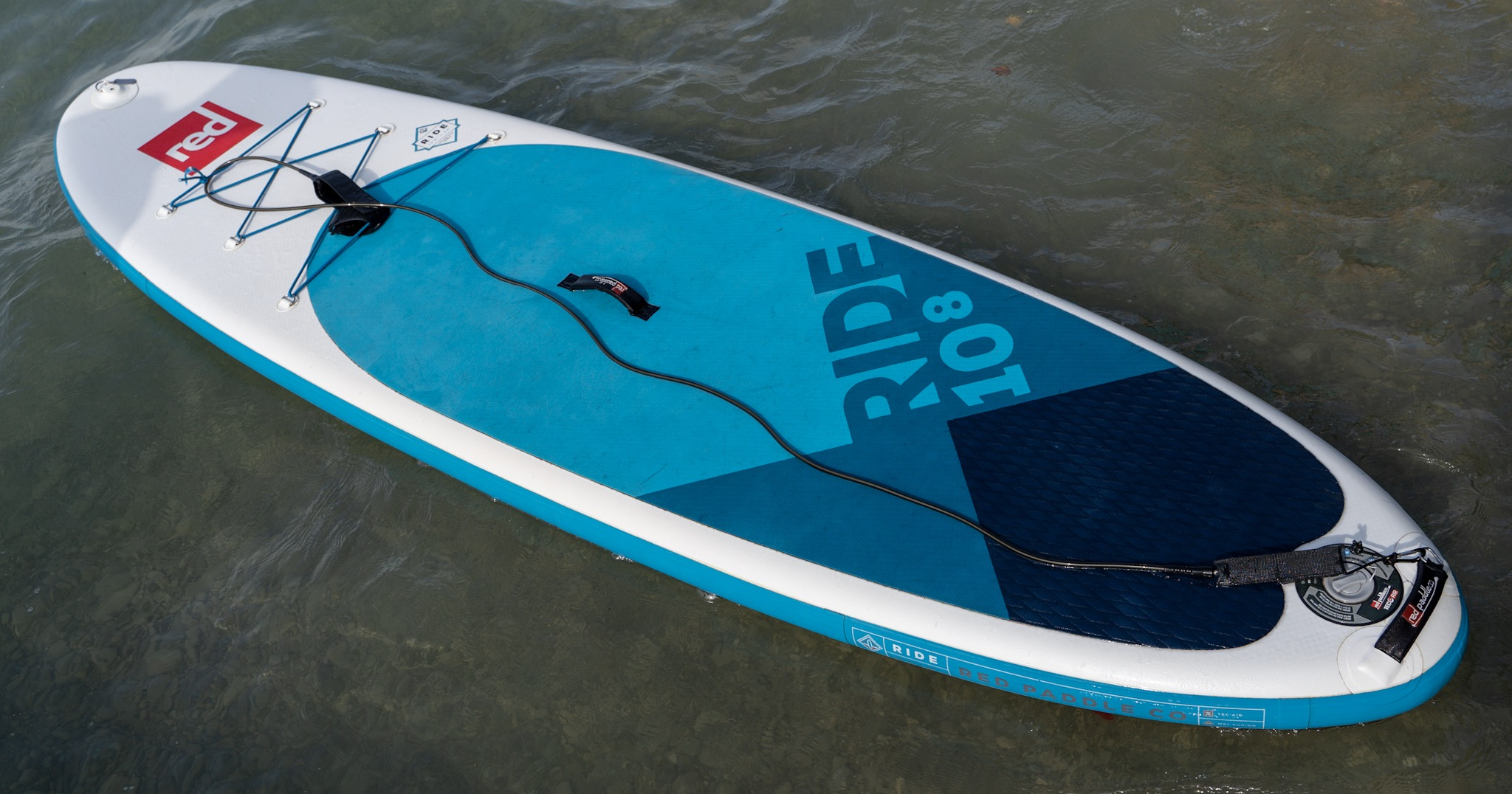 "Red Paddle Ride 10'8"" (Testboard)"