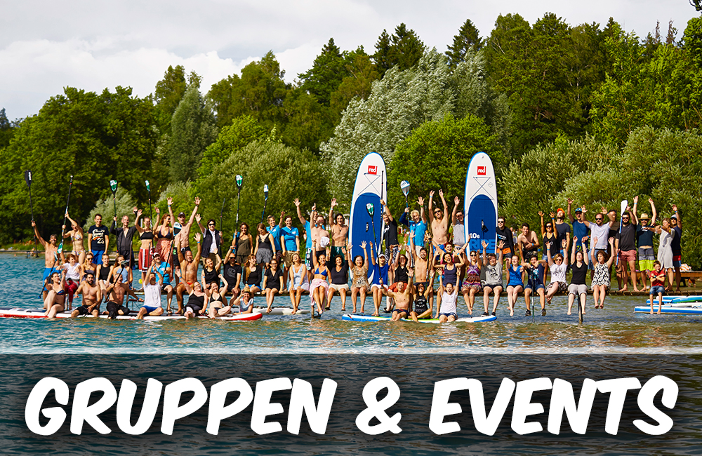 SUP Gruppen und Events