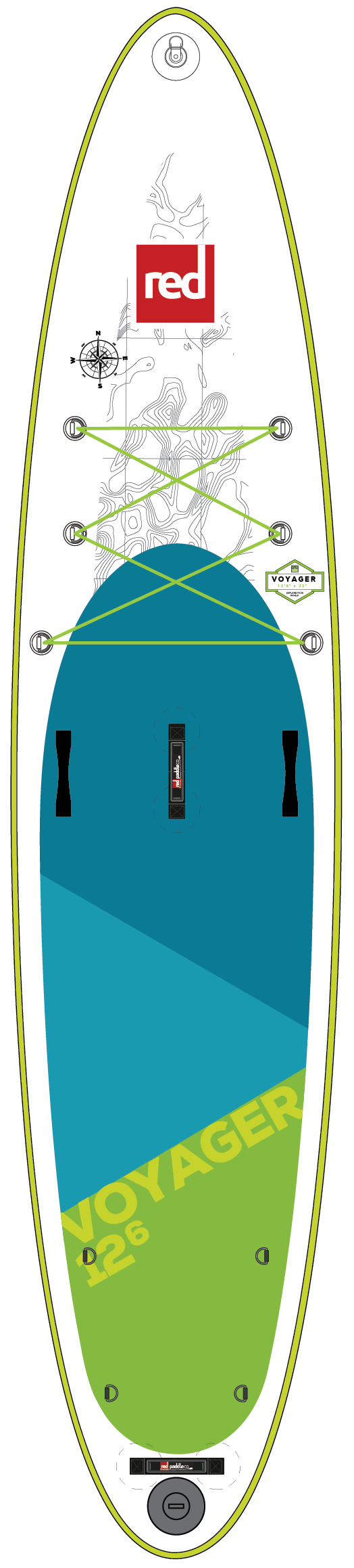 "Red 12'6"" Voyager"