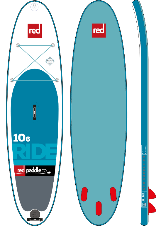 "Red 10'6"" Ride"