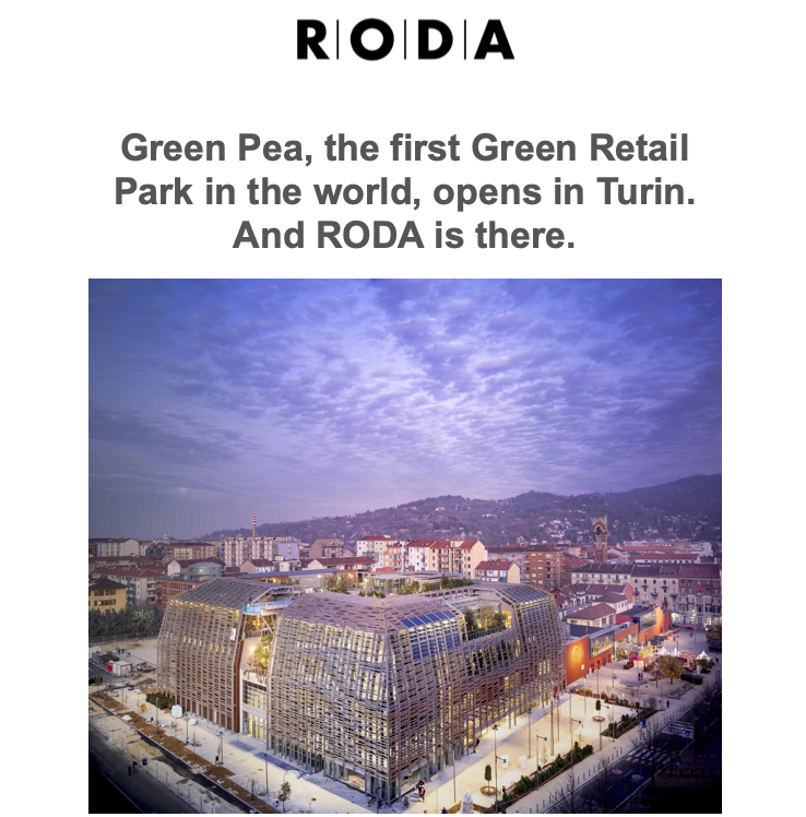 And RODA is there.