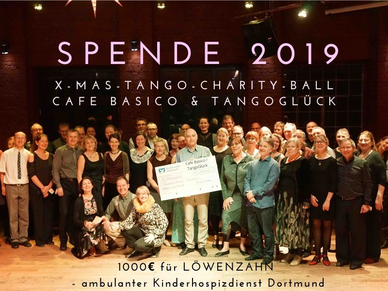 1000 € Spende - x-mas-ball 2019.